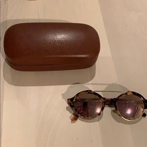 Illesteva Circle Sunglasses